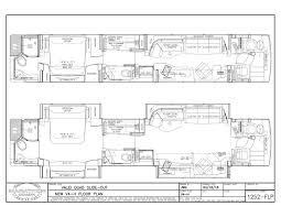 prevost floor plans 2017 prevost marathon h3 45quad slide 1252