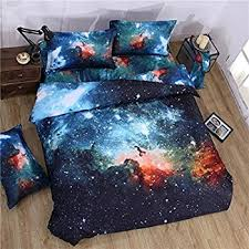 Quilt Duvet Covers Amazon Com Uxcell Galaxy Sky Cosmos Night Pattern Queen Size