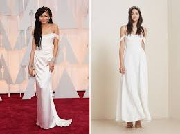 dresses to go to a wedding 11 oscars dresses that you could totally wear at your wedding