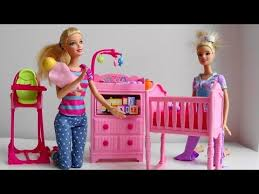 barbie doll baby sitter calls disney princess phone barbie puppy