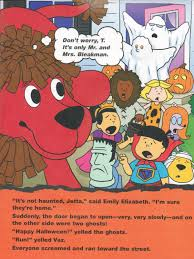 clifford halloween book clifford the big red dog clifford u0027s scary halloween by sonali fry