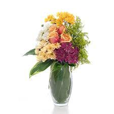 Flowers Glass Vase Carnation Flowers Delivery Singapore Fa3374 Vase Arrangement Of