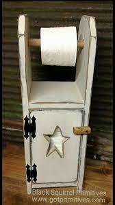 toiletpaper holder cabinet primitive country bathroom cabinet