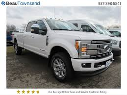 new 2017 ford super duty f 350 srw platinum crew cab pickup in