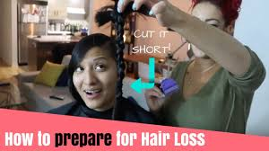 how to prepare for hair loss post chemo cut it short part 1