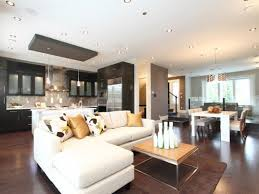 17 open concept simple kitchen and living room designs home