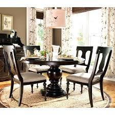 black dining table bench with white chairs marble round room glass