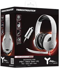 thrustmaster xbox 360 thrustmaster y 300cpx universal gaming headset pc xbox one xbox