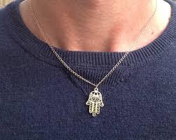 necklace man images Hamsa necklace mens necklacegold filled gold necklace for jpg