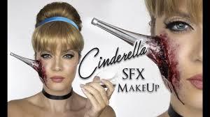 Scary Cat Halloween Makeup Cinderella Sfx Makeup Heel In Face Halloween Disney Princess