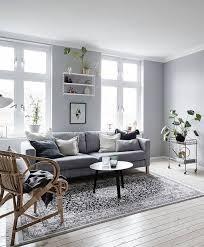 Contemporary Grey Living Room In Ideas Fiona Andersen - Grey living room design ideas