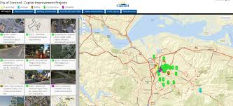 Concord California Map Concord Launches Interactive Map Of Construction Projects