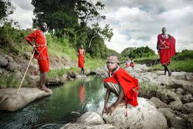 one day a masai warrior david lazar