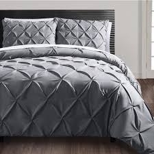 Duvet Cover Set Meaning Vcny Carmen 3 Piece Pintuck Duvet Cover Set Free Shipping Today