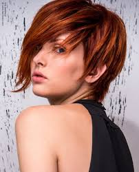short hairstyle with long side fringe fringe ideas for long thick