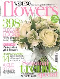 wedding flowers magazine wedding flowers magazine subscription magazine cafe