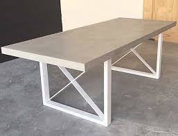 Outdoor Dining Room Furniture Dining Table Concrete Top Outdoor Dining Table Pythonet Home
