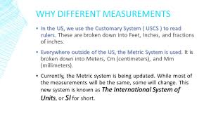 using a ruler to measure uscs to metric si ppt video online