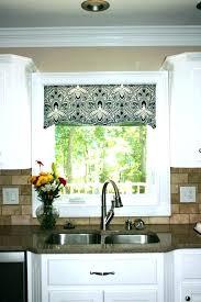 kitchen curtain valances ideas contemporary window treatments for kitchen impressive modern kitchen