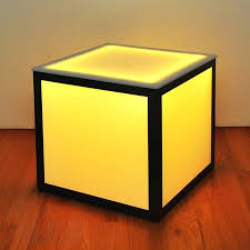 Yellow Side Table Ikea Side Table Next Mirrored Cube Side Table Lighted Side Table Cube