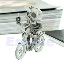 fashion key rings images New fashion creative bike skull purse bag rubber keychain keyring jpg