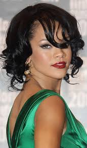 how to curl loose curls on a side ethnic hair 10 curly bob hairstyles to inspire you