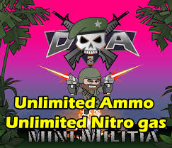 apk min mini militia unlimited ammo and nitro and no reload apk for non