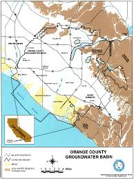 Map Of Orange County Orange County Water District Asce Oc American Society Of Civil