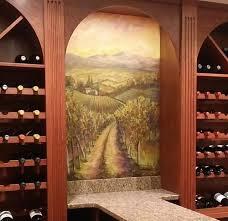 wine room murals mural photo album by maria u0027s ideas