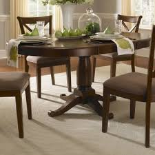 distressed round dining table distressed finish round kitchen dining tables you ll love wayfair