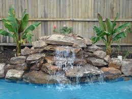rock waterfalls for pools special waterfall plumbing ideas waterfall plumbing ideas and