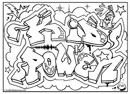 coloring pages graffiti color pages coloring graffiti color