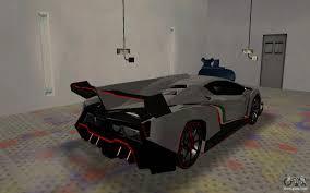 Lamborghini Veneno Back - lamborghini veneno advance edition for gta san andreas