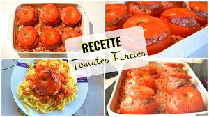 cuisiner chair à saucisse recette tomates farcies à la chair à saucisse recipe tomatoes