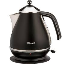 Delonghi Kettle And Toaster Sets Buy De U0027longhi Kbom3001blk Micalite Kettle Black At Argos Co Uk