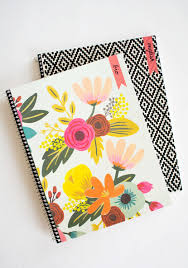 diy customizable notebooks for back to pottery barn