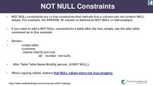 alter table not null bn1037 demo oracle sql