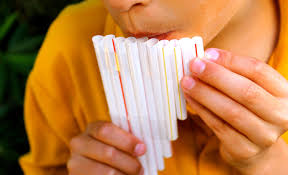 how to make your own pan flute out of straws youtube