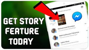 how to get and use messenger day update feature stories