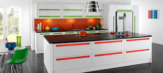 Modular Kitchen Interiors Parallel Shaped Modular Kitchens Interior Design