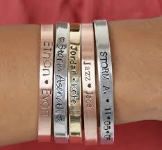 Personalized Cuff Bracelet Mother U0027s Personalized Cuff