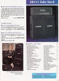 the carvin museum 1991 guitar amps