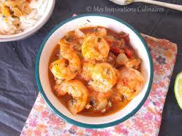 recettes de cuisine antillaise fricassee de crevettes recette antillaise le cuisine de samar