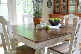 Painted Dining Table Ideas Splendid Dining Table Ideas Painting Chalk Paint Dining Room Table