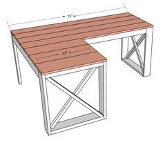 make your own l shaped desk with file cabinets google search