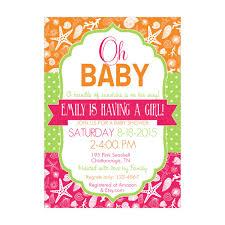 sunshine invitation pink and green baby shower invitations u2013 gangcraft net