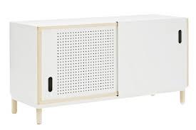 kabino sideboard white by simon legald for normann copenhagen