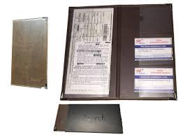 Alabama travel document holder images Car insurance holder for registration card documents jpg