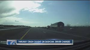 video camaro tries to pass on shoulder causes crash wkbw com
