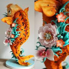 3d cake koi carp amazing 3d cake